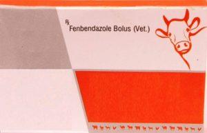 Fenbendazole Bolus Veterinary medicine