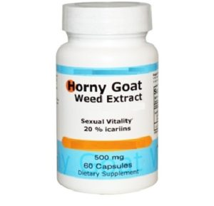 Horny Goat Weed 500 mg capsules