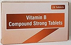 Vitamin B compound strong tablet