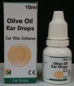 Olive Oil Ear drops 10 ml