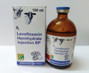 Levofloxacin hemihydrate Injection